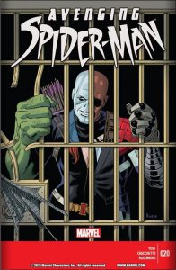 Avenging Spider-Man #20 Cover