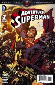 Adventures of Superman #1 Cover