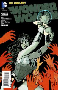 Wonder Woman #20 Cover