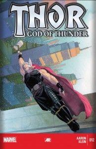 Thor, God of Thunder 12 Cover