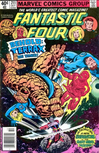 Fantastic Four #211