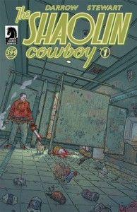 Shaolin Cowboy #1 Cover