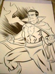Captain Marvel by Robert Wilson IV