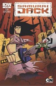 Samurai Jack #5 Cover