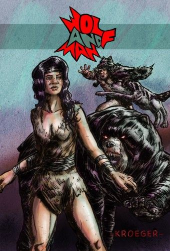 Wolf and Man Cover