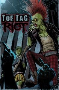 Toe Tag Riot Cover