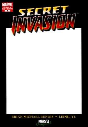 Secret Invasion #1 (Blank Variant)