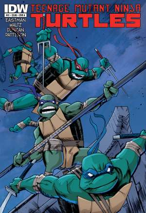 Teenage Mutant Ninja Turtles (2011-Present) #11A