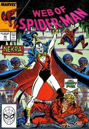 Web of Spider-Man (1985-1995)#46B