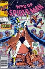 Web of Spider-Man (1985-1995) #46 Variant A: Newsstand Edition