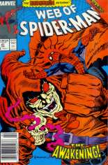 Web of Spider-Man (1985-1995) #47 Variant A: Newsstand