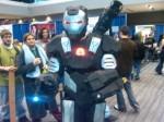 Brilliant War Machine costume.