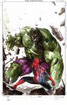 spidey vs hulk gabrielle delotto