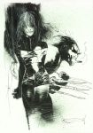 Ashley Wood Rogue and Wolverine