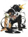 Punisher as Venom Tom Fowler
