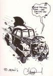 Batmobile by Charlie Adlard