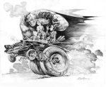 Batmobile by Steve Mannion
