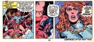 Barry Windsor-Smith and Roy Thomas, Conan #23
