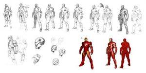 Iron Man Movie concept work