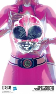 MIGHTY MORPHIN POWER RANGERS 42 Cover