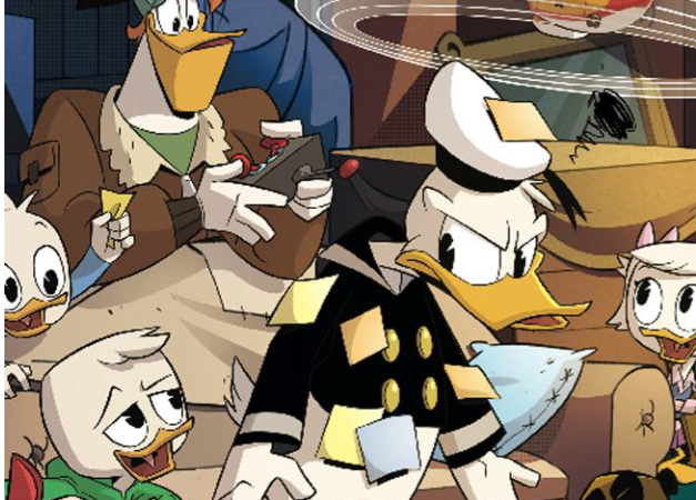 Family Comic Friday: DuckTales: Silence and Science #1