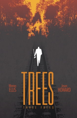 Warren Ellis and Jason Howard's TREES Returns in September; PREVIEW