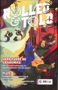 Review - Rolled & Told #12 A Must for D&D Players