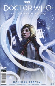 Family Comic Friday: Doctor Who The Thirteenth Doctor Holiday Special 2019