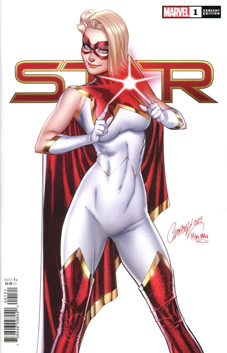 Spinning Out of the Pages of Captain Marvel, This is STAR #1 (Review)