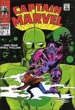 Captain Marvel (1968-1979)#8