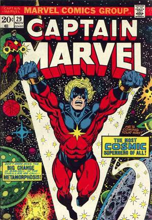 Captain Marvel (1968-1979) #29A