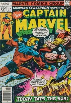 Captain Marvel (1968-1979)#57