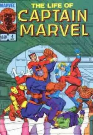 Life of Captain Marvel (1985) #4