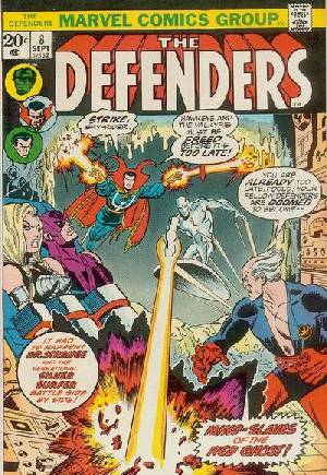 Defenders (1972-1986) #8A