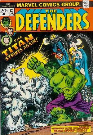 Defenders (1972-1986) #12A