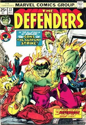 Defenders (1972-1986)#22