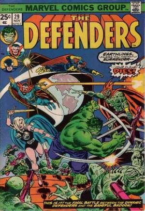 Defenders (1972-1986)#29