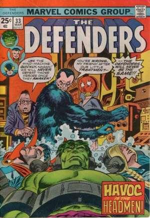 Defenders (1972-1986)#33A