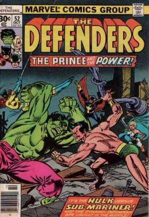 Defenders (1972-1986)#52A