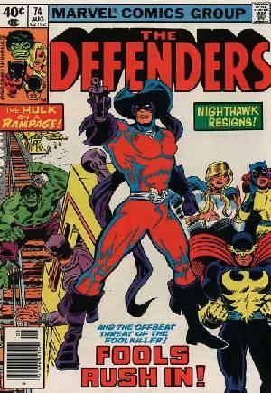 Defenders (1972-1986)#74A