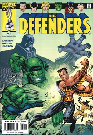Defenders (2001-2002) #2A