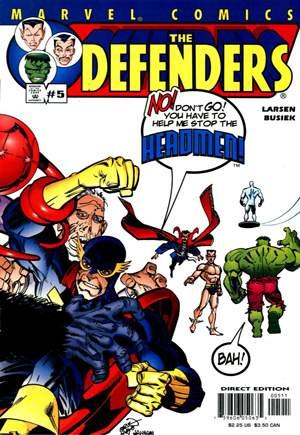 Defenders (2001-2002)#5