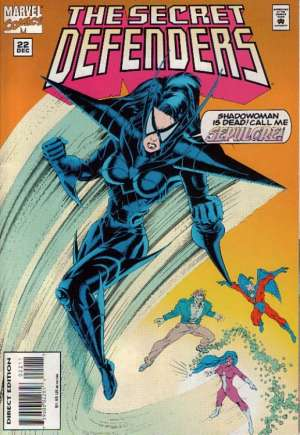 Secret Defenders (1993-1995)#22