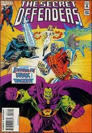 Secret Defenders (1993-1995)#23