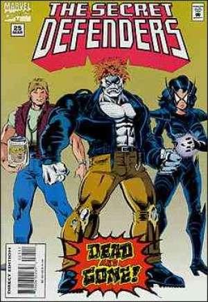 Secret Defenders (1993-1995)#25
