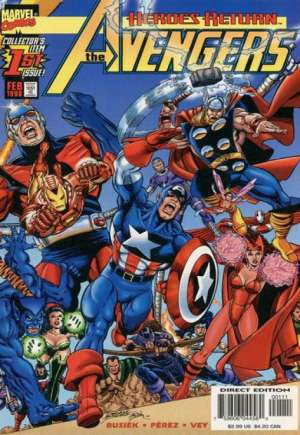 Avengers (1998-2004)#1B