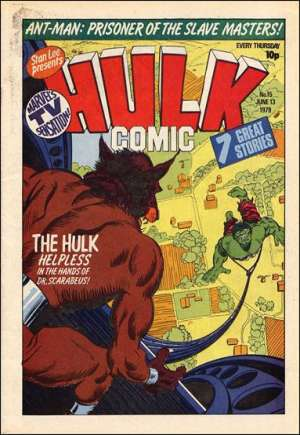 Hulk Comic (UK) (1979-1980)#15