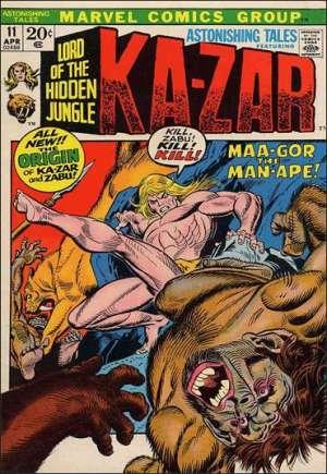 Astonishing Tales (1970-1976)#11