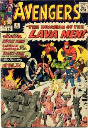 Avengers (1963-1996)#5