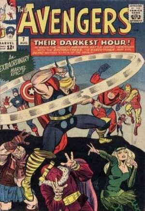 Avengers (1963-1996)#7